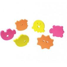 Set jucarii de baie puzzle 6 buc