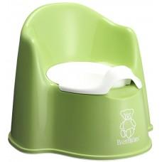 Olita cu protectie spate Potty Chair Green