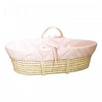 Husa interior pentru cosulet bebe Baby roz