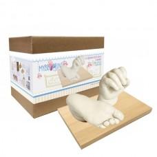 Print Set de sculptura 3D Extra Mana/Picior Bebelus (cu galetuta)