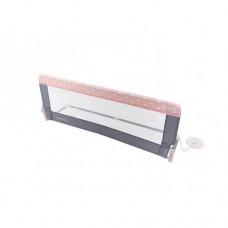 Protectie pat rabatabila pentru somiera adancita 150 cm Dreams Pink