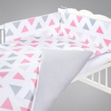 Triunghiuri pink/grey