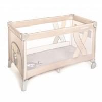 Patut pliabil Baby Design Simple  Beige 2020