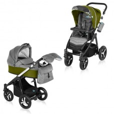 Husky 04 green - Carucior Multifunctional 2 in 1