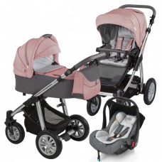 Carucior 2 in 1 - Baby Design Dotty 08 Koral