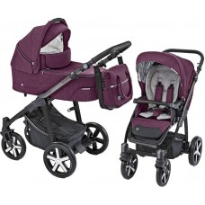 Baby Design Husky Carucior multifunctional Violet + Winter Pack