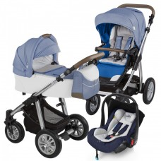 Carucior 3 in 1 - Baby Design Dotty 03 Navy