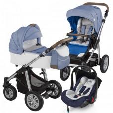 Carucior 3 in 1 - Baby Design Dotty 03 Navy