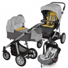 Carucior 3 in 1 - Baby Design Dotty 07 grey