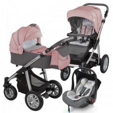 Carucior 3 in 1 - Baby Design Dotty 08 Koral