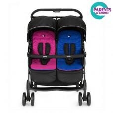 Carucior de gemeni Aire Twin Pink/Blue