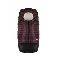 Sac de iarna  Carry On 80 cm - Checkered cranberry/Beige