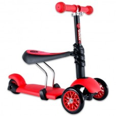 Y Volution Glider 3 in 1 red