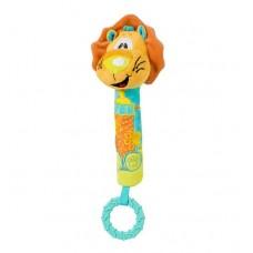 Jucarie chitaitoare cu inel gingival Lion
