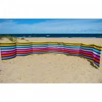 Paravan pentru plaja pliabil 12 m multicolor Springos