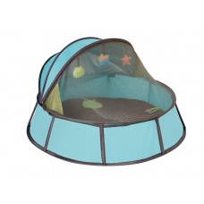 Cortul Anti-UV Babyni 2 in 1 Blu-Taupe Premium