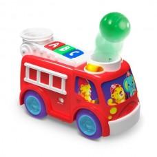 Jucarie muzicala cu lumini Roll & Pop Fire Truck