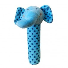 Jucarie plus cu zornaitoare Elefant blue