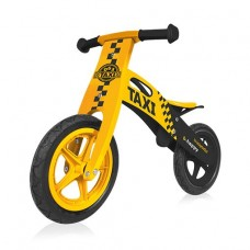 B-Happy bicicleta din lemn 01 Taxi (yellow)