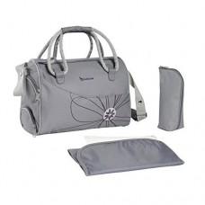 Geanta pentru scutece Bowling Bag Greylower Bag Black / Grey
